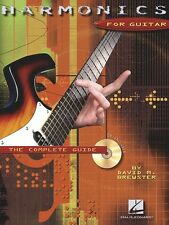 Harmonics for Guitar - The Complete Guide Guitar Educational Book 000695675