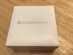BEAVERBROOKS EMPTY GIFT BOX FOR NECKLACE OR EARRINGS