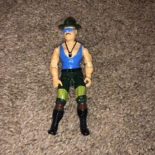 Vintage G.I. Joe Sgt. Slaughter Action Figure Variant Marauders Rare 1989
