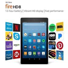 Amazon Kindle Fire HD 8 Tablet 16 GB 7th Generation 2017 LATEST Model Black