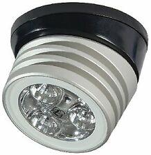 Lumitec 101325 Zephyr Deck 5K Base Brushed Light, White