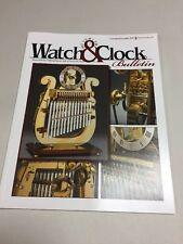 Bulletin #418; Watch & Clocks (157)