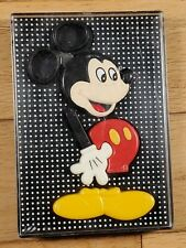 Vintage Disney Applause Mickey Mouse Stationery Desk Set - Scissor, Tape & Pin