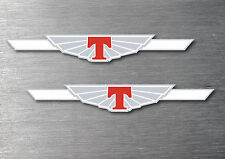 Tickford decal sticker 2 pack 7 yr water & fade proof vinyl sticker badge