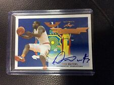 2012-13 Leaf Ultimate Dion Waiters RC State Pride Auto Autograph Heat