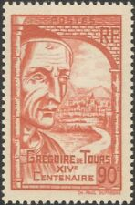 France 1939 St Gregory of Tours/People/Church/Building/Architecture 1v (n43825f)