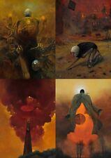 "Zdzislaw Beksinski Art Poster 11.8"" x 16.5"""