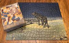 Vtg Tuco Art Picture Puzzle Lone Wolf 350 Pc Non Interlocking Rare