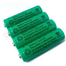 4 pcs Ni-Cd AA 900mAh 1.2V rechargeable battery Green