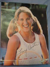 Original 1980 Tennis Tracy Austin Full-Size 19x25in. 7Up Poster MINT
