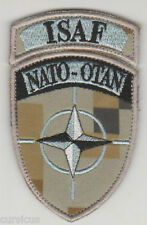 ISAF. AFGHANISTAN. LATVIA. NATO forces patch LATPAT 'N' VLCRO