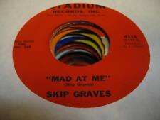 HEAR! Country Bopper 45 SKIP GRAVES Mad At Me on Stadium