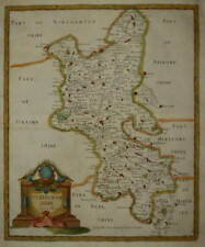 BUCKINGHAMSHIRE BY ROBERT MORDEN FOR CAMDEN'S BRITANNIA 1695.