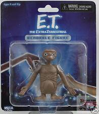 """E.T BENDABLE Neca 30th Anniversary E.T Classic 2013 2.5"""" Inch ACTION FIGURE"""