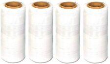 "40 Rolls Hand Stretch Film Shrink Wrap 18"" x 1500 ft Shipping Clear Plastic Wrap"