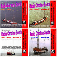 Pirate Radio Caroline South Volumes 1,2,3 & 4 Listen In Your Car