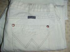 Wrangler Eve White Jeans 32 x 34