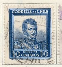 Chile 1931-34 Early Issue Fine Used 10c. 097996