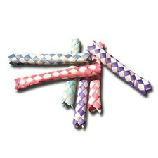 """Novelty Gag Gifts ~ 5"""" Bamboo Finger Traps ~ Lot of 10 Birthday Party Pranks"""
