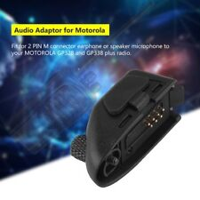 Headset Adapter Audio Adapter For Motorola Walkie Radio GP328 GP338 GP340 PTX760