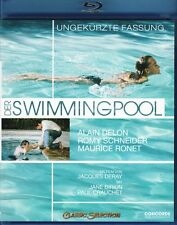 THE SWIMMING POOL (1969 Alain Delon) La Piscine -  Blu Ray - Sealed Region B