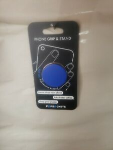 PopSockets: Collapsible Grip & Stand for Phones and Tablets - Blue