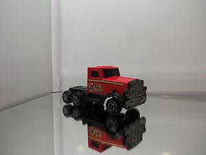 1985 Buddy L Peterbilt Tractor Trailer Truck - FD Dept. - Loose 1/43 Scale
