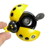 Mini Ladybird Ladybug Shape Cycling Bicycle Ring Bell Horn For Kids' Bike