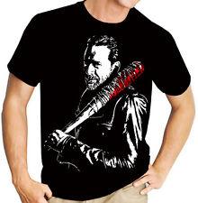 AMC's The Walking Dead Negan (Lucille) TV Show Men's Black t shirt
