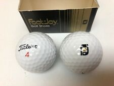 New / Vintage - FootJoy Titleist Golf Ball - RARE Limited Two-Ball Promo Display