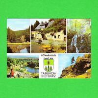 Ansichtskarte DDR Wanderziel rund um Tambach-Dietharz