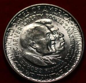 Uncirculated 1952 Washington Carver Silver Comm Half