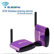 990FT 5.8GHZ Wireless AV TV Audio Video Sender Transmitter Receiver IR Remoter