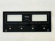 MCINTOSH MC-7300 MC7300 GLASS PANEL