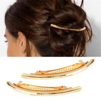 Holder Horsetail Headwear Hair Barrette Girls Hairpins Metal Hair Clips
