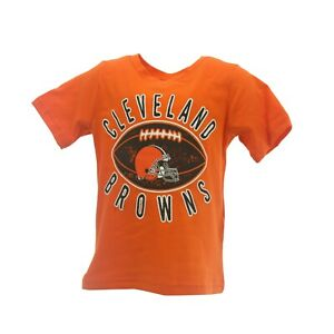 Cleveland Browns Official NFL Apparel Infant Baby Toddler Size T-Shirt New Tags