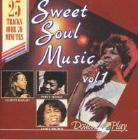 Various Artists - Sweet Soul Music, Various Artists, Audio CD, Good, FREE & FAST
