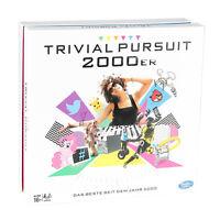 Hasbro Spiele Trivial Pursuit 2000er Edition Fragespiel Brettspiel Wissensspiel