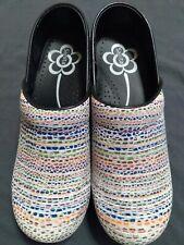 Sanita womens clogs Size 39 Multi-Color