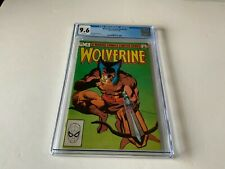 WOLVERINE LIMITED SERIES 4 CGC 9.6 WHITE PS FRANK MILLER MARVEL COMICS 1982 3T5