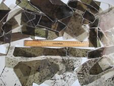 MICA FOR CRAFTS, LARGE SHEETS W/INCLUSIONS, MEDIUM-THICK,  1/2 # Pack of 35 +/-