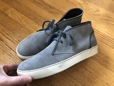 Lanvin Paris Mens Suede Leather Chukka Boots Shoes Sneakers 9US