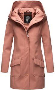 Damen Softshell Jacke Winterjacke wasserabweisend Outdoor lang R439