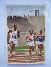 Jesse Owens Olympia Olympics 1936 Berlin Trading Card Muhlen Franck 200m Lauf