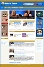 POKER GUIDE - Professionally Designed Affiliate Website - Free Installation