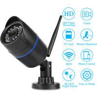 Wireless 1080P/720P HD WIFI IP Network Camera CCTV Outdoor Security IR Night FK