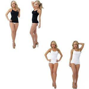 JML Belvia Shapewear Slimming Vest Top Body Tummy Control Corset Seamless