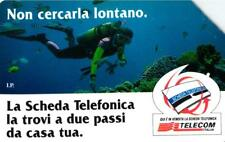 *G 608 A C&C 2674 SCHEDA TELEFONICA USATA LONTANO SUB VARIANTE PUNTO BIANCO