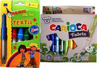 Textilstift Textil Textilien Carioca und Blopens Textilstifte Sparpaket T-Shirt