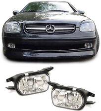 Klarglas Nebelscheinwerfer HB4 chrom Paar für Mercedes W203 CLK C209 SLK R170